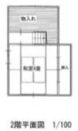 てつじ購入家二階図