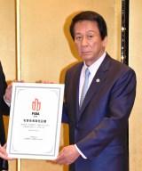 日本国際ダンス連盟『FIDA JAPAN』名誉会長に就任した杉良太郎 (C)ORICON NewS inc.
