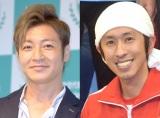 (左から)つるの剛士、キングコング・梶原雄太 (C)ORICON NewS inc.