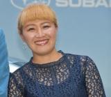『SUBARU 新型「レヴォーグ」』の発売記念イベントに出席した丸山桂里奈 (C)ORICON NewS inc.