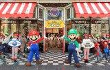 ユニバーサル・スタジオ・ジャパン新エリア『SUPER NINTENDO WORLD』より『マリオ・カフェ&ストア』のプレスプレビューが開催 (C)Nintendo.