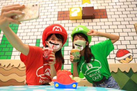 ユニバーサル・スタジオ・ジャパン新エリア『SUPER NINTENDO WORLD』より『マリオ・カフェ&ストア』(C)Nintendo.