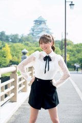『NMB48 10th Anniversary Book(光文社刊)』に登場する白間美瑠