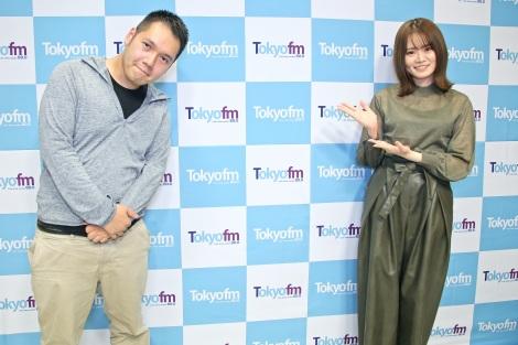 15日放送のTOKYO FM『山崎怜奈の誰かに話したかったこと。』に神田伯山が登場(C)TOKYO FM