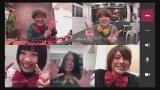 10月17日深夜、総合テレビで放送『よなよなラボ』伊野尾慧(画面右上)がゲスト出演 (C)NHK
