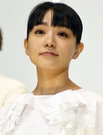 『みをつくし料理帖』公開記念舞台あいさつに登壇した奈緒 (C)ORICON NewS inc.
