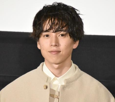 映画『スパイの妻』の舞台あいさつに登壇した坂東龍汰 (C)ORICON NewS inc.