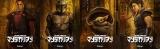 (左から)グリーフ・カルガ、マンダロリアン、ザ・チャイルド、キャラ・デューンの最新キャラクターアート=『マンダロリアン』シーズン2、10月30日(金)よりディズニープラスにて独占配信(C)2020 Lucasfilm Ltd.