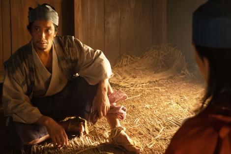 大河ドラマ『麒麟がくる』第27回(10月11日放送)より。先に京へ入っていた木下藤吉郎(佐々木蔵之介) (C)NHK