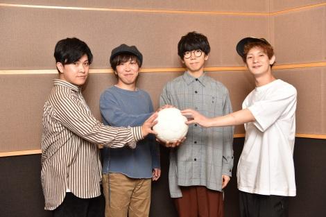 『第99回全国高校サッカー選手権大会』応援アーティストに決定したsumika(左から) 小川貴之、荒井智之、片岡健太、黒田隼之介