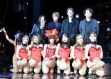 映画『彼女は夢で踊る』初日直前舞台あいさつに登壇した(左から)矢沢ようこ、犬飼貴丈、加藤雅也、時川英之監督 (C)ORICON NewS inc.