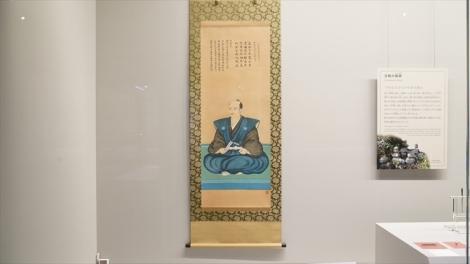 2階の「展示室」=『岐阜関ケ原古戦場記念館』関ケ原の戦いから420年の2020年10月21日オープン (C)ORICON NewS inc.