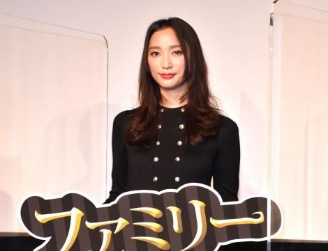 映画『アダムス・ファミリー』の公開記念イベントに出席した杏 (C)ORICON NewS inc.