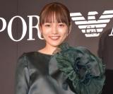 エンポリオ アルマーニの広告モデルに起用された川口春奈(C)ORICON NewS inc.