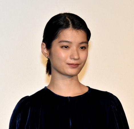 映画『朝が来る』初日舞台あいさつに登壇した蒔田彩珠 (C)ORICON NewS inc.