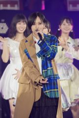 「青春のラップタイム」で山本彩が登場=『NMB48 10th Anniversary LIVE 〜心を一つに、One for all, All for one〜』より(C)NMB48