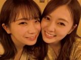 「これからの乃木坂46」について対談した秋元真夏(左)と白石麻衣(2020年3月撮影)