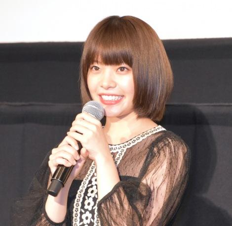 岸井ゆきの=映画『空に住む』公開記念舞台あいさつ (C)ORICON NewS inc.