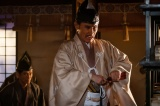 大河ドラマ『麒麟がくる』第28回(10月18日放送)より。摂津晴門(片岡鶴太郎)の暗躍に注目 (C)NHK