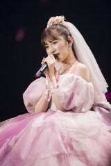 『吉田朱里 卒業コンサート 〜さよならピンクさよならアイドル〜』より(C)NMB48