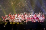 大阪城ホールで有観客で行われた『吉田朱里 卒業コンサート 〜さよならピンクさよならアイドル〜』より(C)NMB48