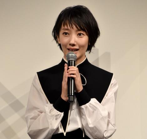 """""""心が満たされた瞬間""""を語った波瑠=映画『ホテルローヤル』完成報告会 (C)ORICON NewS inc."""