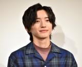 映画『461個のおべんとう』親子試写会イベントに登壇したなにわ男子・道枝駿佑 (C)ORICON NewS inc.