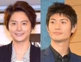 三浦春馬さんとの2ショットを公開した小池徹平(左) (C)ORICON NewS inc.