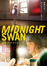 映画『ミッドナイトスワン』ポスタービジュアル(C)2020「MIDNIGHT  SWAN」FILM PARTNERS