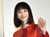 映画『とんかつDJアゲ太郎』の初日舞台あいさつに出席した池間夏海 (C)ORICON NewS inc.