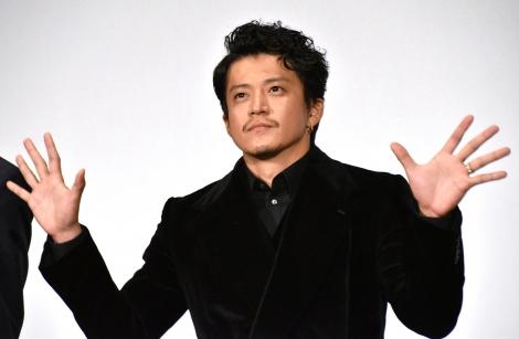 映画『罪の声』初日舞台あいさつに登壇した小栗旬 (C)ORICON NewS inc.