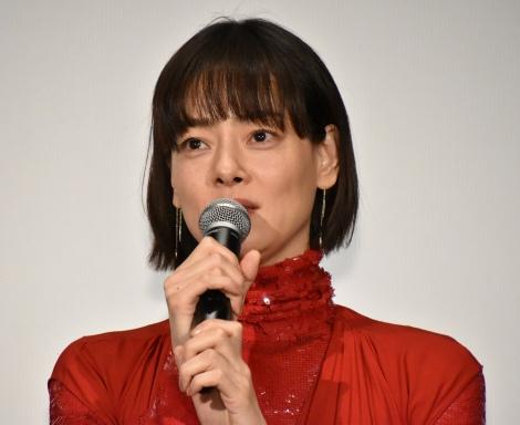 映画『罪の声』初日舞台あいさつに登壇した市川実日子 (C)ORICON NewS inc.