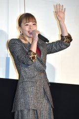 映画『とんかつDJアゲ太郎』の初日舞台あいさつに出席した山本舞香 (C)ORICON NewS inc.