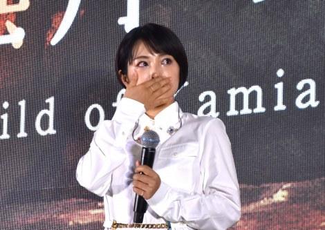 劇場オリジナルアニメ『神在月のこども』(2021年公開)のスタートアップイベントに参加したmiwa (C)ORICON NewS inc.