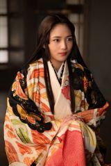 大河ドラマ『麒麟がくる』第30回(11月1日放送)より。久しぶりに帰蝶(川口春奈)も登場(C)NHK