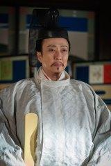 大河ドラマ『麒麟がくる』正親町天皇(坂東玉三郎) (C)NHK