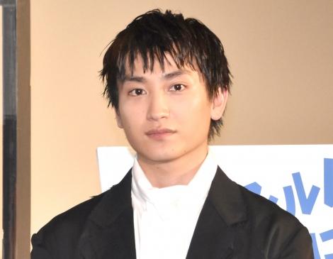 映画『サマーフィルムにのって』の舞台挨拶に登場した金子大地 (C)ORICON NewS inc.