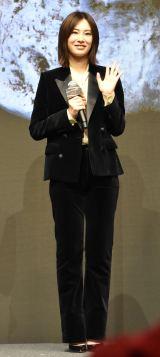 映画『ドクター・デスの遺産-BLACK FILE-』完成報告イベントに登壇した北川景子 (C)ORICON NewS inc.