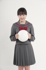 高校サッカー16代目応援マネージャーに決定した本田望結(C)日本テレビ