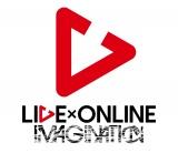 L『LIVE×ONLINE IMAGINATION』ロゴ