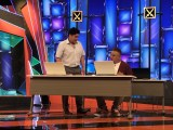 コントを披露するサンドウィッチマン=11月3日放送、『お笑い二刀流 MUSASHI』 (C)テレビ朝日