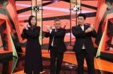 11月3日放送、『お笑い二刀流 MUSASHI』サンドウィッチマンとともに特別MCとして女優の木村多江が出演 (C)テレビ朝日