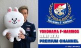 横浜F・マリノスがLINE LIVEプレミアムチャンネル開設。写真はコメントを寄せた仲川輝人選手