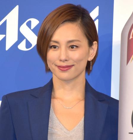 アサヒ『極上<キレ味>』新CM発表会に出席した米倉涼子(C)ORICON NewS inc.