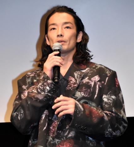 映画『アンダードッグ』の舞台あいさつに出席した森山未來 (C)ORICON NewS inc.
