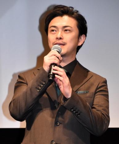 映画『アンダードッグ』の舞台あいさつに出席した勝地涼 (C)ORICON NewS inc.