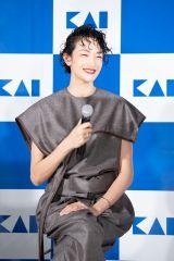 オンラインイベント『KAI Edge Museum 〜刃物で切り開く未来』に登場した冨永愛