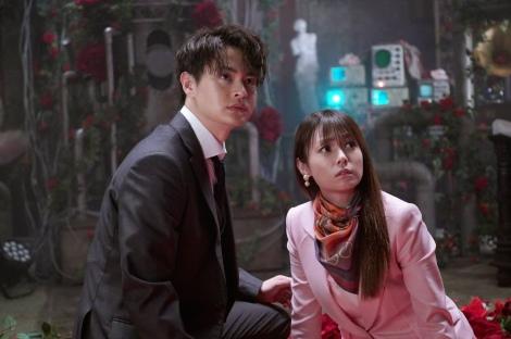 12日放送の『ルパンの娘』第5話に出演する(左から)瀬戸康史、深田恭子 (C)フジテレビ