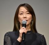 映画『私をくいとめて』の舞台あいさつに登壇した大九明子監督 (C)ORICON NewS inc.