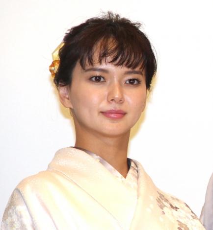 多部未華子=映画『多十郎殉愛記』完成披露舞台あいさつ (C)ORICON NewS inc.